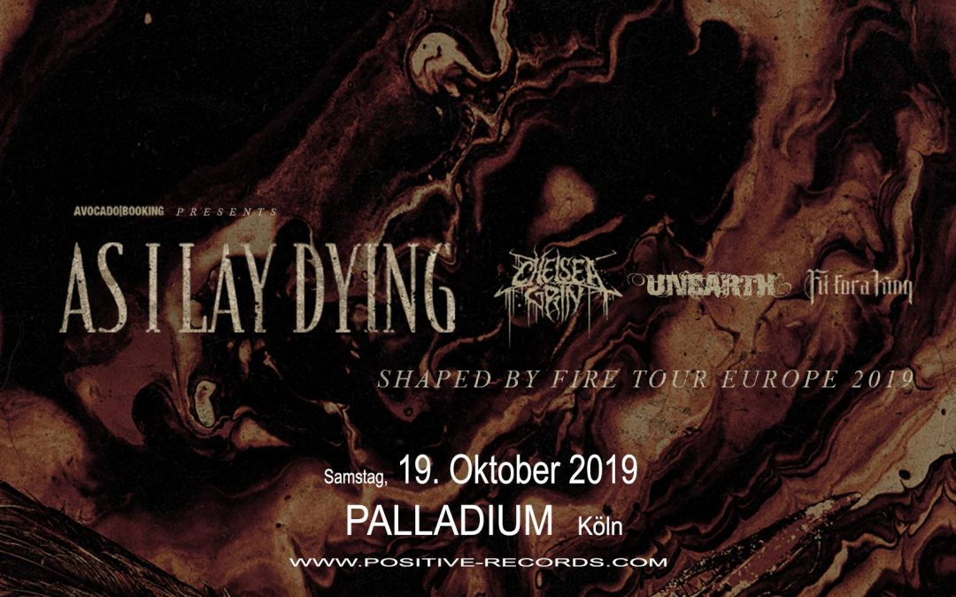 announcement: As I Lay Dying 19.10.19 Köln