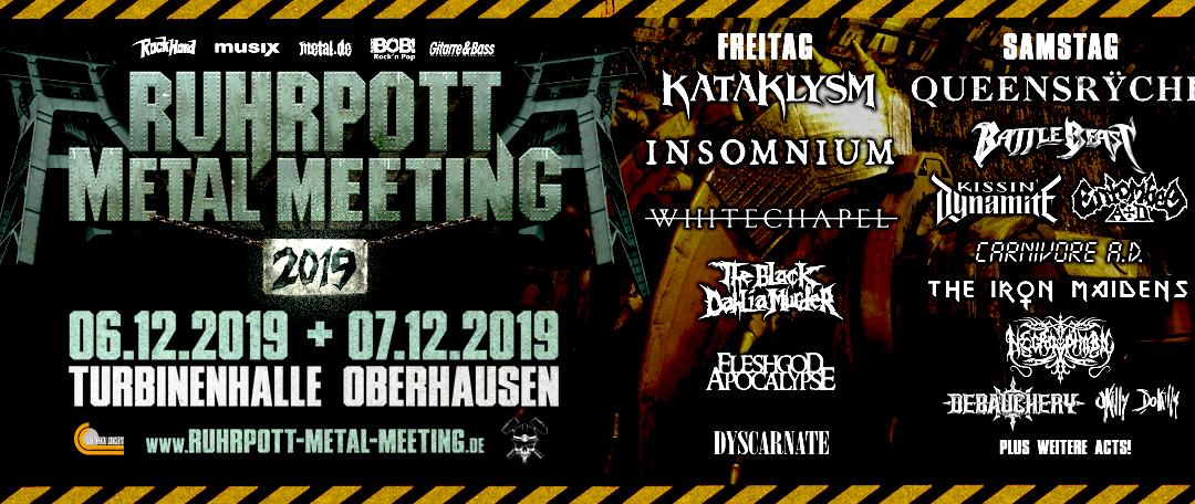 """Ruhrpott Metal Meeting 2019 – Das """"idyllische"""" Familientreffen im Ruhrgebiet"""